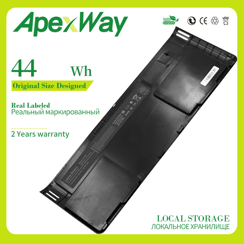 Apexway Laptop Battery 0D06XL 0DO6XL H6L25AA H6L25UT HSTNN-IB4F W91C OD06XL For <font><b>HP</b></font> EliteBook <font><b>Revolve</b></font> <font><b>810</b></font> G1 G2 G3 Tablet 830 image