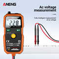 ANENG S830 True RMS Digital Multimeter Smart Multimeter Measuring DC/AC Voltage Meter Resistance Tester with LCD Display