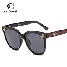 New Luxury Brand Bee Polarizing Sunglasses Mirror Lenses UV400 Retro Men Women Shades Unisex Eyewear Vintage sunglasses
