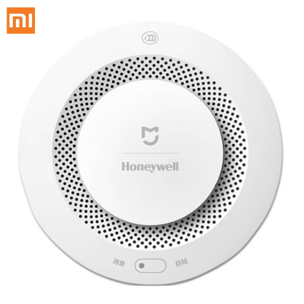 Xiaomi Mijia Honeywell Fire Alarm Detector Remote Control Audible Visual Alarm Notication Work With Mi Home APP Original