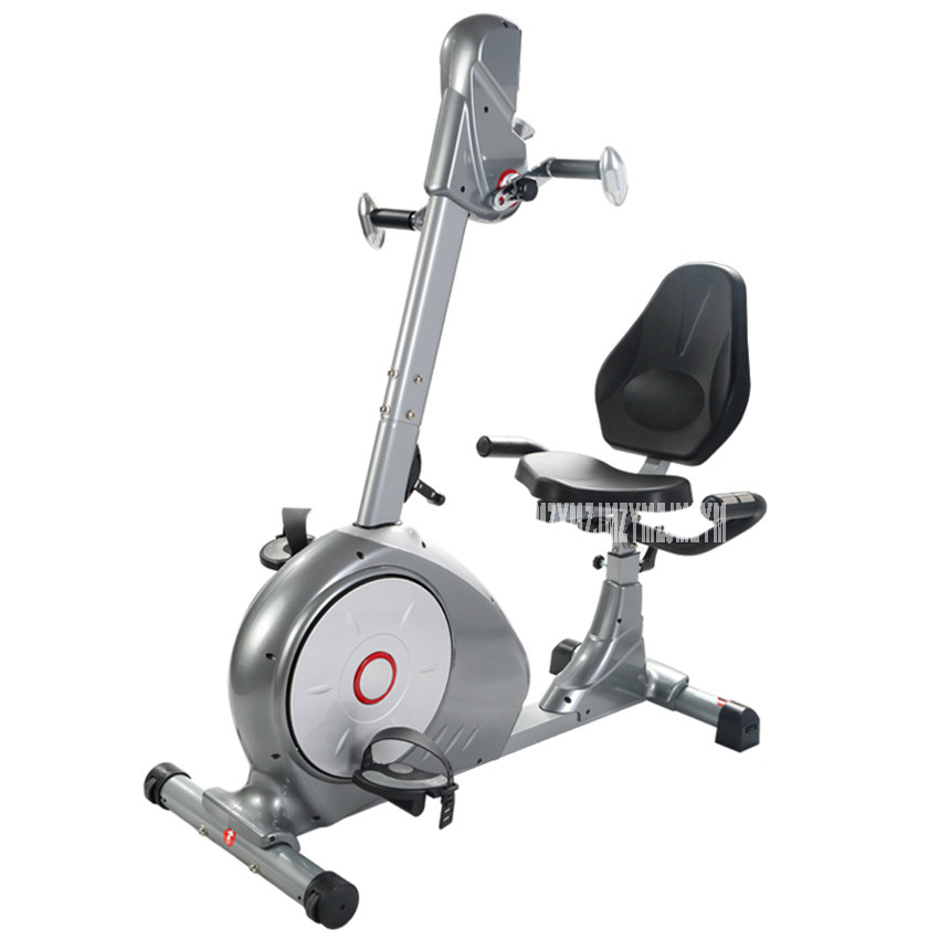 Indoor Cycling Bikes Horizontal Exercise Car Home Muffler Bikes And Feet With The Elderly Fitness Equipment 8602R  Load 100kg