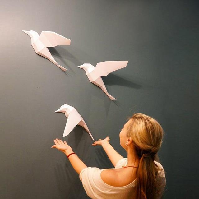 3D Paper Model Papercraft Puzzle Paper Craft DIY Scored Paper Templates Art 2