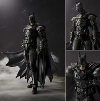 16cm Batman The Dark Knight Rises Justice League Action figure toys doll Christmas gift with box xinduplan dc comics play arts justice league arkham knight batman movable action figure toys 27cm kids collection model 0272