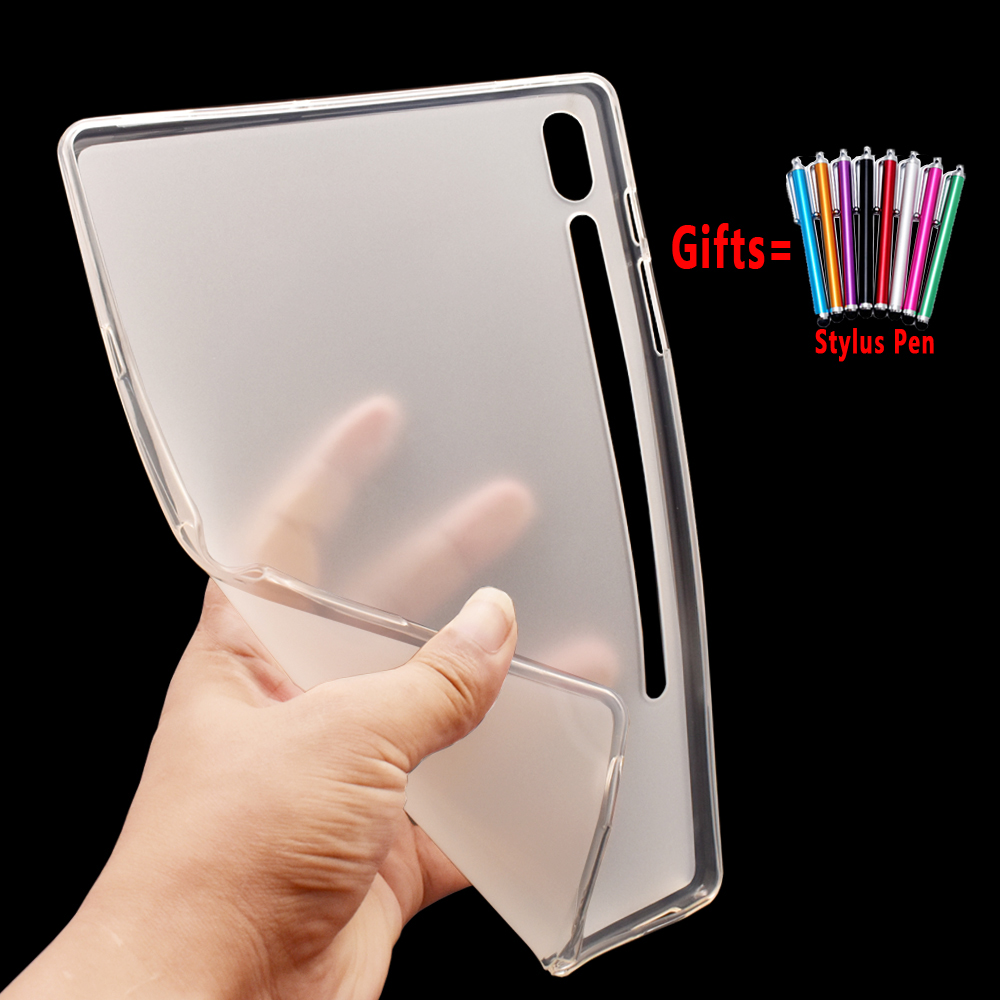 For Samsung Galaxy Tab S6 10.5 Case Cover T860 T865 SM-T860 SM-T865 Funda Environmentally Friendly Tablet Silicon Soft Coque