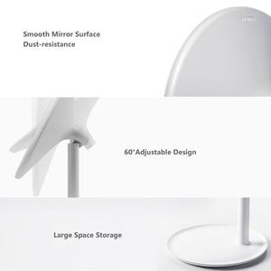 Image 4 - AMIRO HD Makeup Mirror Daylight Mirror Vanity Make up Mirrors Lamp USB Charging Lights Health Beauty Adjustable