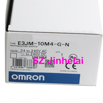 OMRON E3JM-10M4-G-N Authentic original Photoelectric switch 24-240VAC/DC