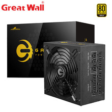 Great Wall PSU Power Supply 750W E-sports ATX Power Supplies for Computer 80 PLUS GOLD 14cm Fan Active PFC Power Supply for PC wholesale nzxt df1402512sedn 12v 1 68w 0 14a 140 140 25 14cm chassis power supply fan