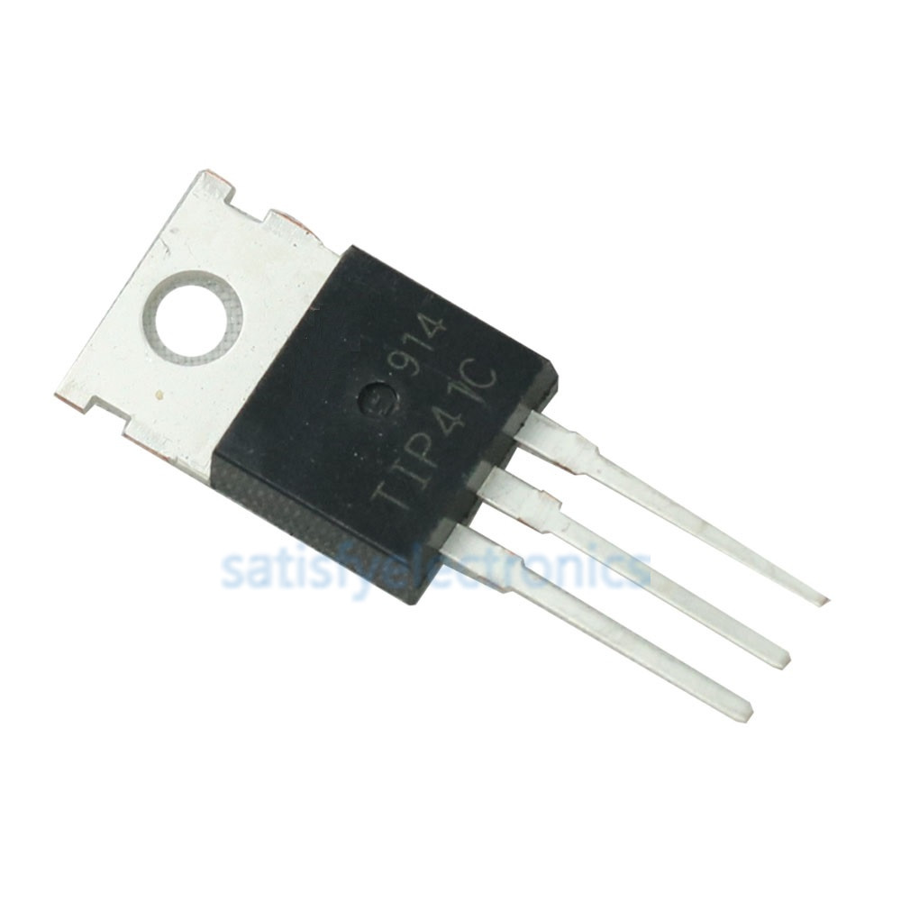TIP41C TIP41 NPN Transistor TO-220 NEW