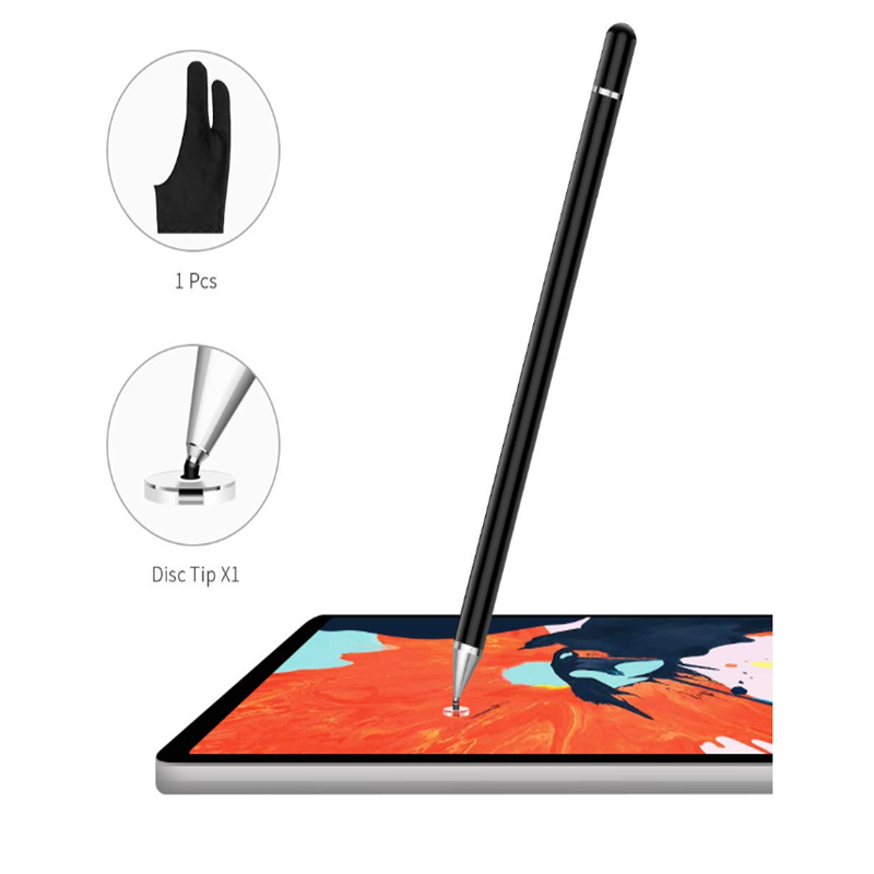 For Ipad Pencil  Stylus Pencil Case Touch Pen Disc Fine Tip High Writing On IPad For Pad Phone Apple Huawei Xiaomi