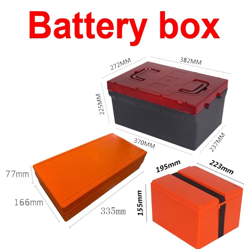 48V 20Ah 30Ah 12V 100Ah 60V 72V 20Ah 48V 12Ah 25Ah 36V scooter bike empty box battery case lifepo4 li ion LTO lead acid battery
