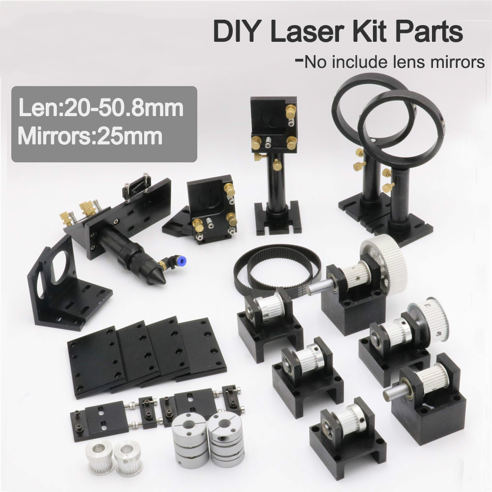 Co2 Laser Kit Mechanical Parts 20-50.8mm For DIY CO2 Laser Engraving And Cutting Machine