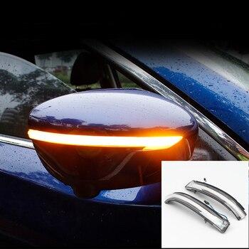Car Styling Dynamic Turn Signal Light LED Side Mirror Indicator Blinker Light For Nissan Qashqai J11 / X-Trail T32 2014 - 2018