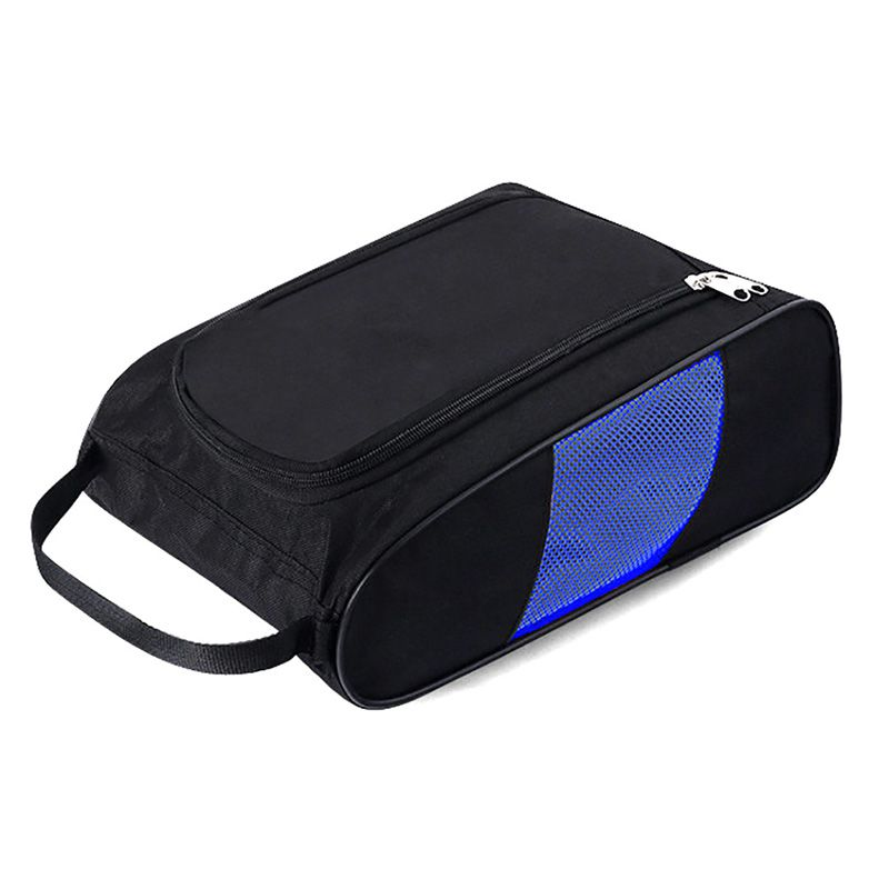 Golf Shoes Bag  Portable Breathable Water Resistant Zipper  Shoe Case Carrier Shoe Accessory