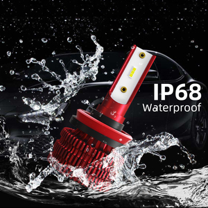 Image 2 - CROSSFOX 2x 자동 H11 Led 안개등 H8 H9 H7 H1 9005 HB3 9006 HB4 H4 LED 자동차 조명 12V 6000K 8000LM 전조등 전구 액세서리