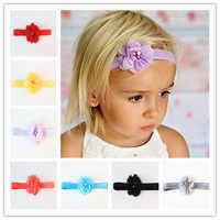 Accessoires de cheveux pour enfants cousus à la main bébé fille tiara bandeau bandeau floral nouveau-né bandeau infantile bandeaux photographie