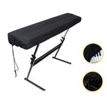 Piano Upright Keyboard-Covers Digital Dustproof Cloth Foldable Electronic 61/88-Keys