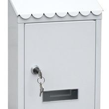 Mail Box Bucket-Post Garden-Supplies Letter Lockable Home-Garden-Decoration Outdoor Wall-Mounted