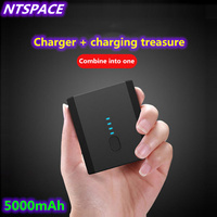 Power Bank Charger Two In One Charging Treasure For iPhone / Samsung dual USB Backup Battery Charger For Huawei/Xiaomi Power