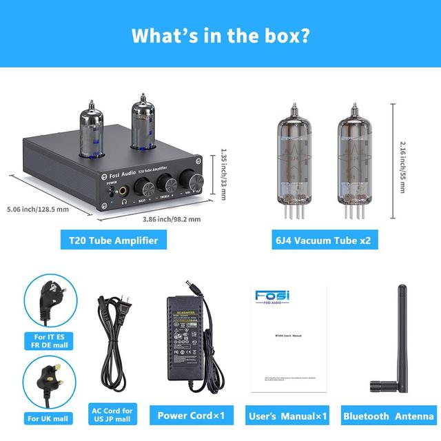 Power Amp Portable Headphone Amplifier For Home Passive Speakers 3