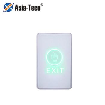 NC NO COM dotykowy przełącznik podświetlenia dotyk palcem zwolnij przycisk otwierania drzwi przycisk wyjścia przycisk dotykowy dla systemu kontroli dostępu tanie i dobre opinie LUCKING DOOR CN (pochodzenie) 86 * 50 * 21mm high sensitivity touch sensing plexiglass acrylic panel NO NC COM blue (to be determined) green (touch)