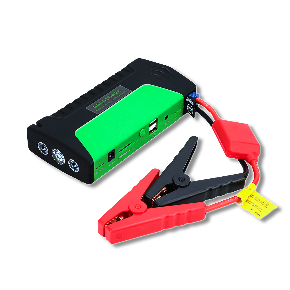GKFLY Car Jump Starter 12V 600A Portable Starting Device Cable Car Charger Car Battery Booster For Petrol Diesel AUTO Power Bank