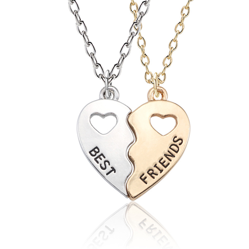 2pcs I love you to the moon and back/' alloy charms pendants 38*34*3mm