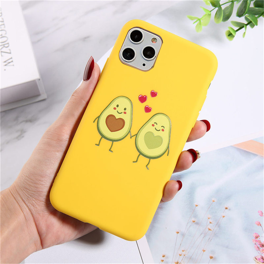 Haf3f5abb5b824ae683382adb2976648fE - Lovebay Silicone Phone Cases For iPhone 7 XR 11 Pro Avocado Waves Cactus For iPhone 5SE 6 6s 8 Plus X XS Max Soft TPU Back Cover