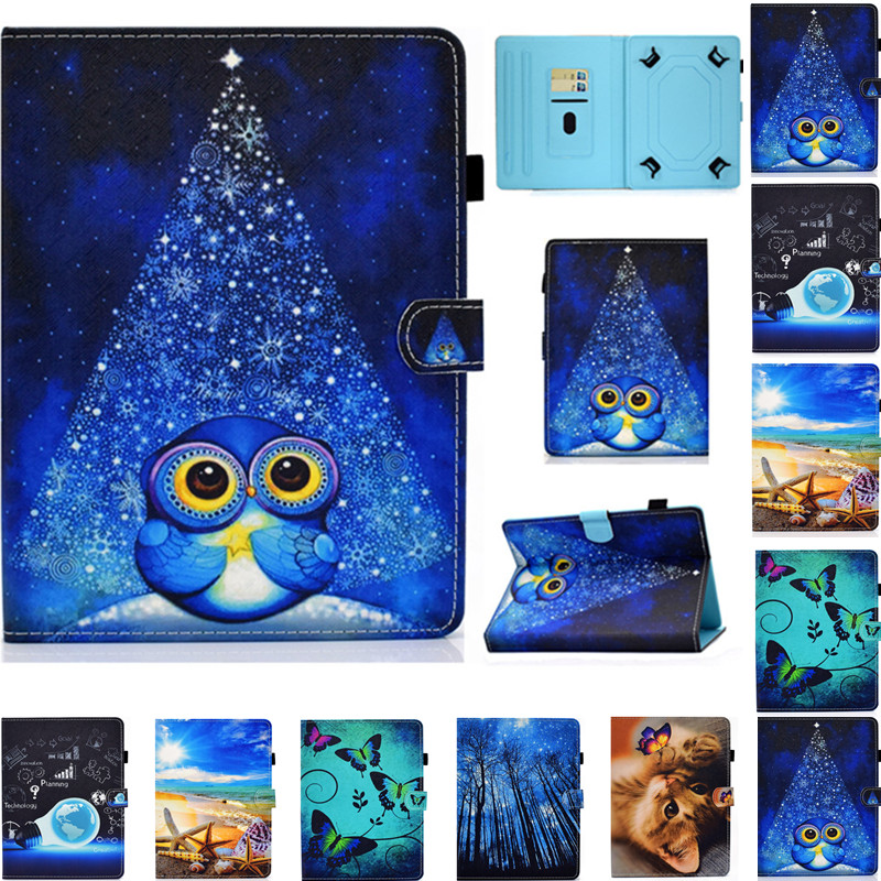 PU Leather Universal Case for 7 Inch Tablet <font><b>Irbis</b></font> <font><b>TZ712</b></font> TZ727 TZ754 TZ757 TZ772 TZ714 TZ07 TZ704 TZ713 TZ720 Cartoon Cover image