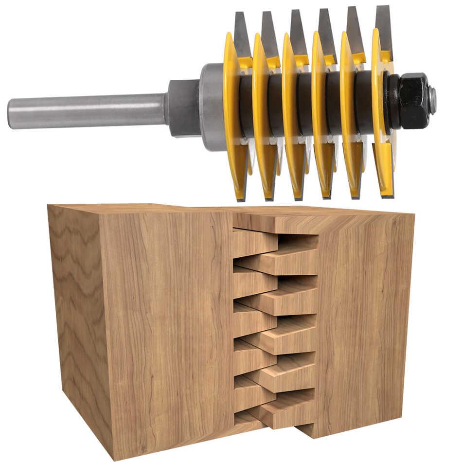 1pc 8mm Shank12mm שוק חדש לגמרי 2 שיניים מתכוונן אצבע משותף נתב קצת שגם קאטר תעשייתי כיתה עבור עץ כלי
