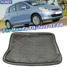 Doublure de cargaison sur mesure pour Honda Fit Jazz GD 2001 - 2008 tapis de sol de coffre arrière tapis de plateau 2002 2003 2004 2005 2006 2007