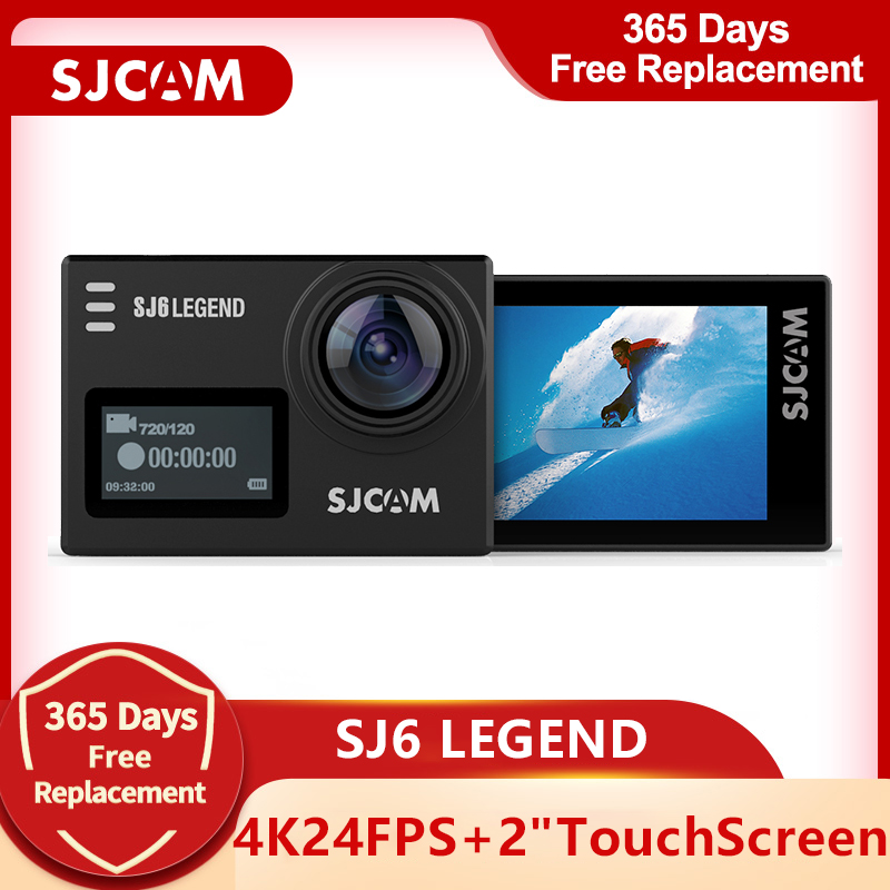 Оригинальная Спортивная Экшн-камера SJCAM SJ6 Legend 4K Wifi 30M водонепроницаемый ультра HD 2