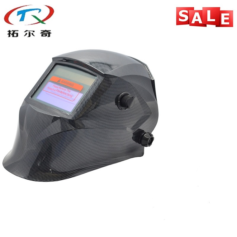Fast Delivery Water transfer Black Welding Mask Chameleon Auto Darkening Best Welder Tools Welding Helmet TRQ-JD07-2233DE