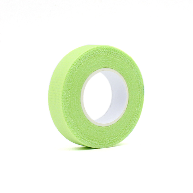 2019 New Japanese grafted eyelash isolation tape with holes breathable comfortable sensitive resistant Green eye pad 1