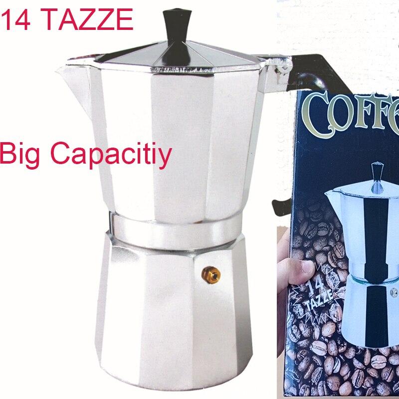 50/100/150/300/450/600 мл Бытовая Алюминиевая кофейная плита латте мокко эспрессо инструмент легко чистить для домашнего офиса Кофе