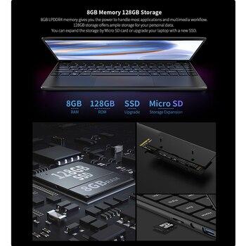 """Newest Teclast F6 Laptop 13.3"""" FHD IPS 1920x1080 Intel Apollo Lake Windows 10 Laptops 8GB LPDDR4 128GB SSD Notebook 1.28KG 5"""