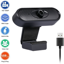 Webcam full hd 1080p Mini USB Camera Web Camera 2MP Autofocus CMOS Sensor 30fps Laptop Camera For Computer With Microphone 1920 1080 2mp 30fps h 264 hd 1 3 cmos ar0330 5 50mm manual zoom varifocal high speed mini usb camera endoscope android