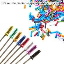 50 шт алюминиевый сплав велосипедный кабель торцевая крышка