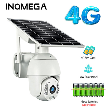 4G Wifi Low Power Solar camera Dual audio Voice Intrusion Alarm Cameras1080P HD Solar Panel Outdoor Monitoring Waterproof Camera