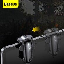 Baseus 2 mandos para jugar a PUBG, botón de disparo, mando para iPad Pro, Xiaomi, Huawei