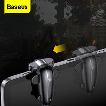 Baseus 2Pc Control Gaming Trigger Voor Pubg Games Shooter Fire Knop Shooting Game Joystick Voor Ipad Pro Xiaomi Huawei tabletten