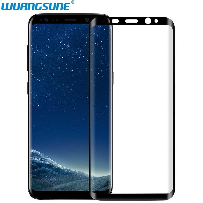 3D zakřivený povrch Celý kryt Ochranné sklo pro Samsung Galaxy S6 hrana S7 S6 Edge Plus Chránič obrazovky z tvrzeného skla Film
