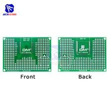 diymore 50x70mm Double Side Prototype PCB Board Breadboard Protoshield for Arduino ESP8266 ESP-12F ESP-12E ESP32 ESP32S 5x7cm