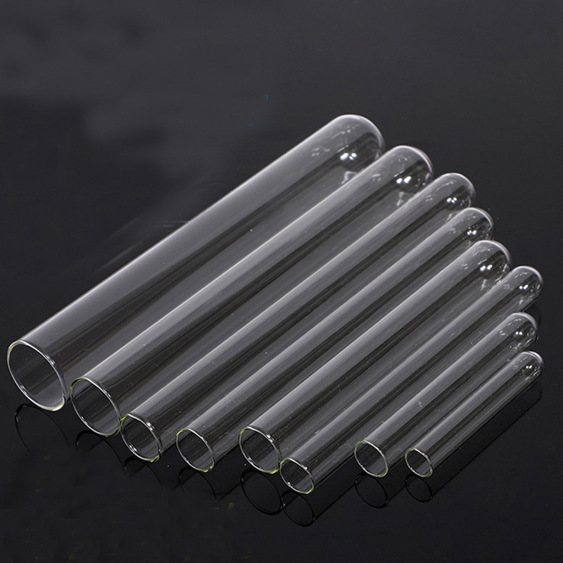 50 pieces/lot 10*100mm Round Bottom Glass Test Tube Lab Consumable  Thickened Transpatent Glass tube Laboratory Supplies Pakistan
