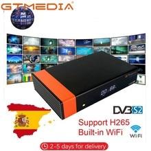 Medios GT DVB S2 Decodificador Receptor satélite Ricevitore Freesat V8 NOVA 1080P Full HD soporte Youtube PVR PowerVu Biss