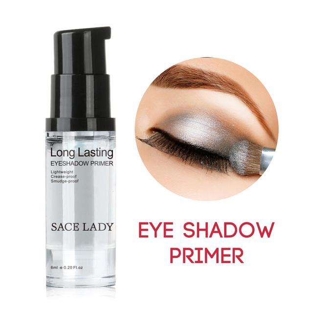 SACE LADY Eyeshadow Primer Makeup Eye Base Cream Liquid Eye Shadow Primer Make Up Oil Control Brighten Long Lasting Cosmetic