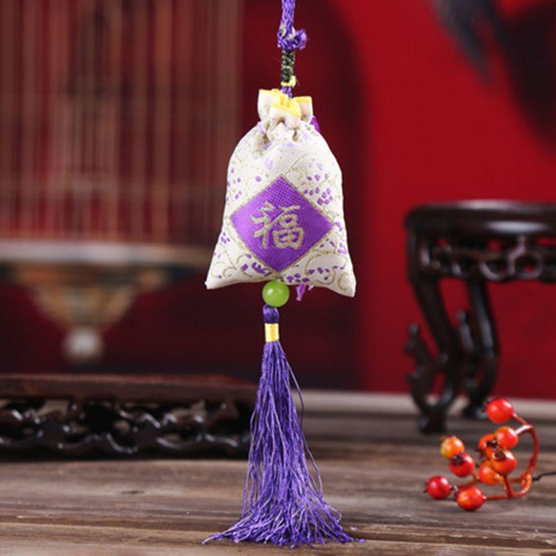 Bag Lavender Spice Traditional-Chinese-Folk Fragrance Car Medicine Sachet Mascot-Decoration