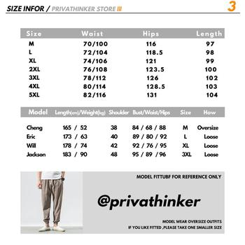 Privathinker Brand Casual Harem Pants Men Jogger Pants Men Fitness Trousers Male Chinese Traditional Harajuku 2020 Summer Clothe 6