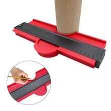 14/25cm Contour Gauge Plastic Profile Copy Contour Gauges Standard Wood Marking Tool Tiling Laminate Tiles General Tools