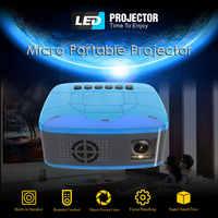 U20 mini palm projector USB HDMI AV video portable projector home theater movie projector Projector for Home Cinema