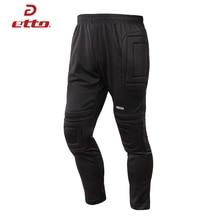 Etto профессиональные футбольные брюки вратаря утолщенные губки наполнителя футбольные тренировочные брюки Вратарские брюки для мужчин и женщин S~ 5XL HUC011